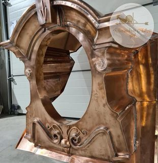 Dinanderie Clabots - Ornements de toiture - dinanderie - travail des métaux